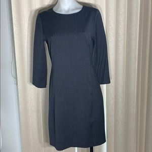 Theory A-line Classic Navy Dress